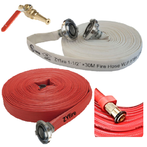 Fire Hoses and Nozzles