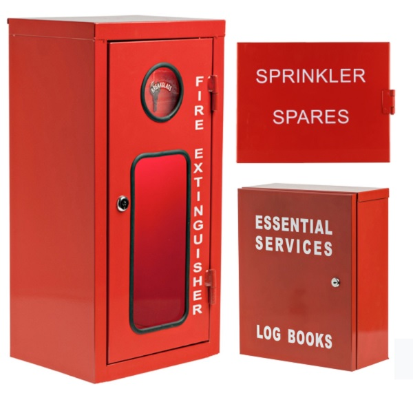 Sprinkler and Essential Cabinets