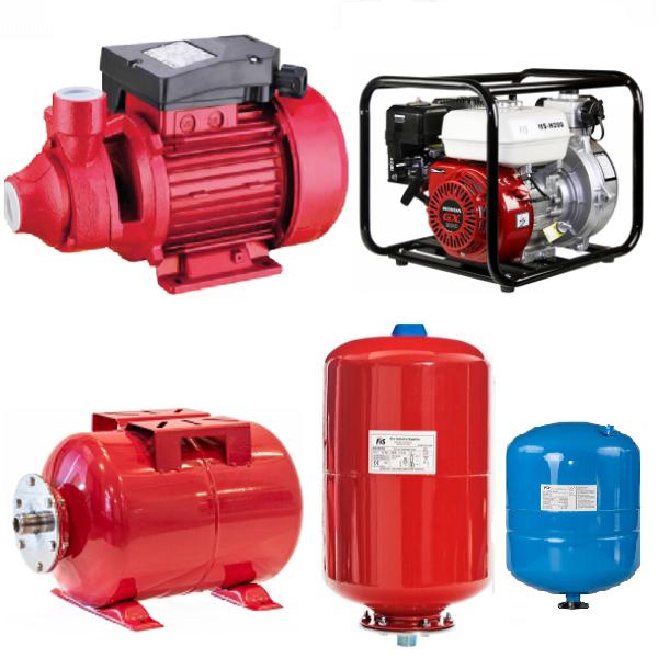 Pumps & Pressure Tanks